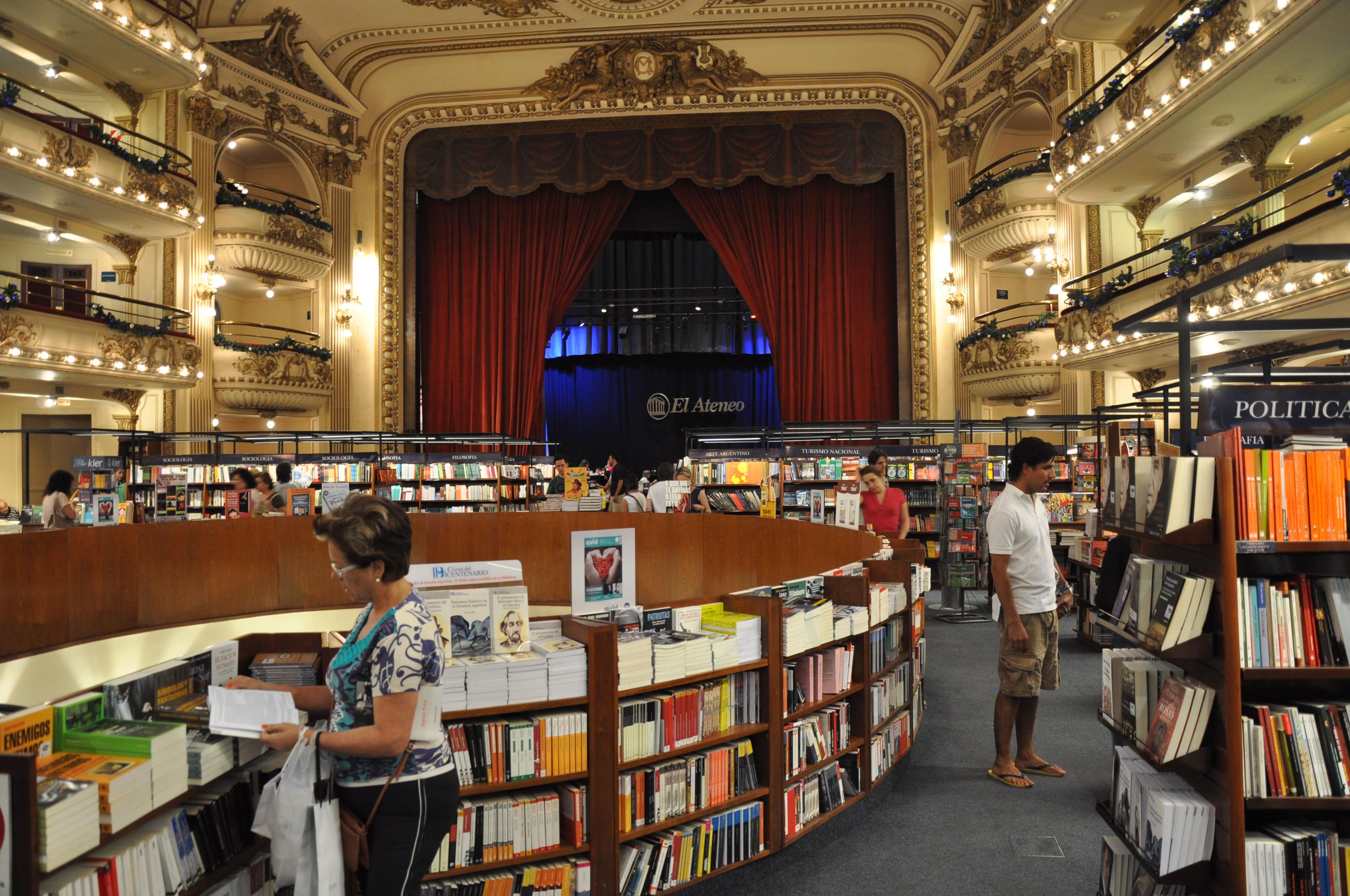 El-Ateneo-Interior-Lascar bookstore