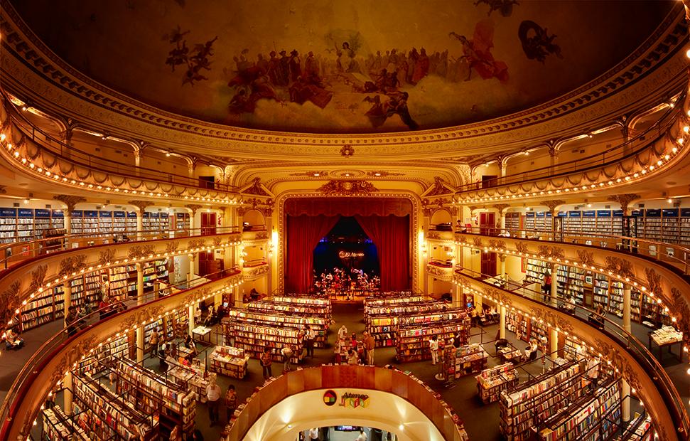 El-Ateneo-Interior-Poole bookstore