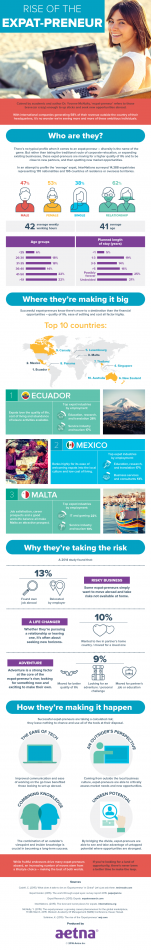 Expat-preneur Infographic