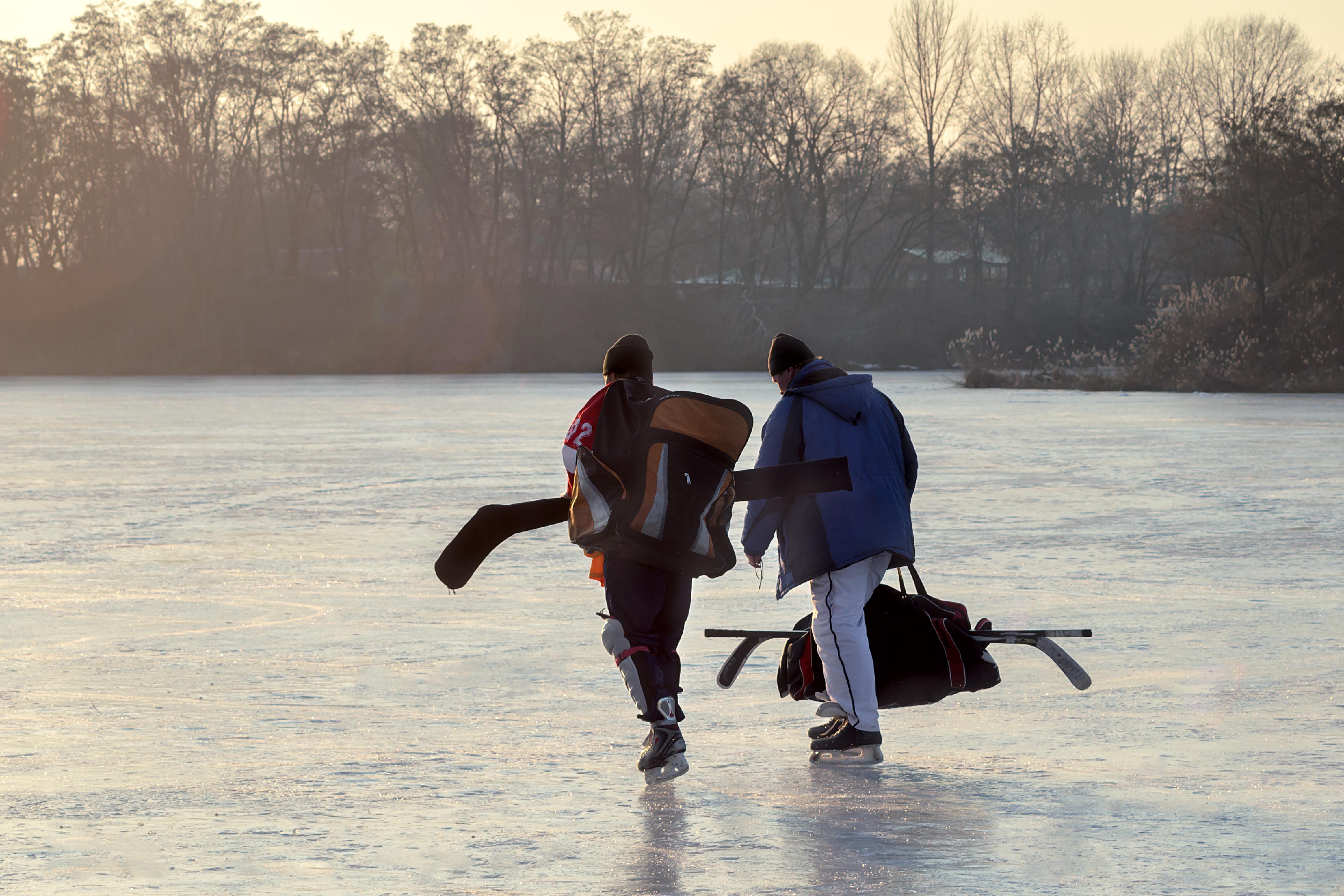 Canada 150 Pond Hockey