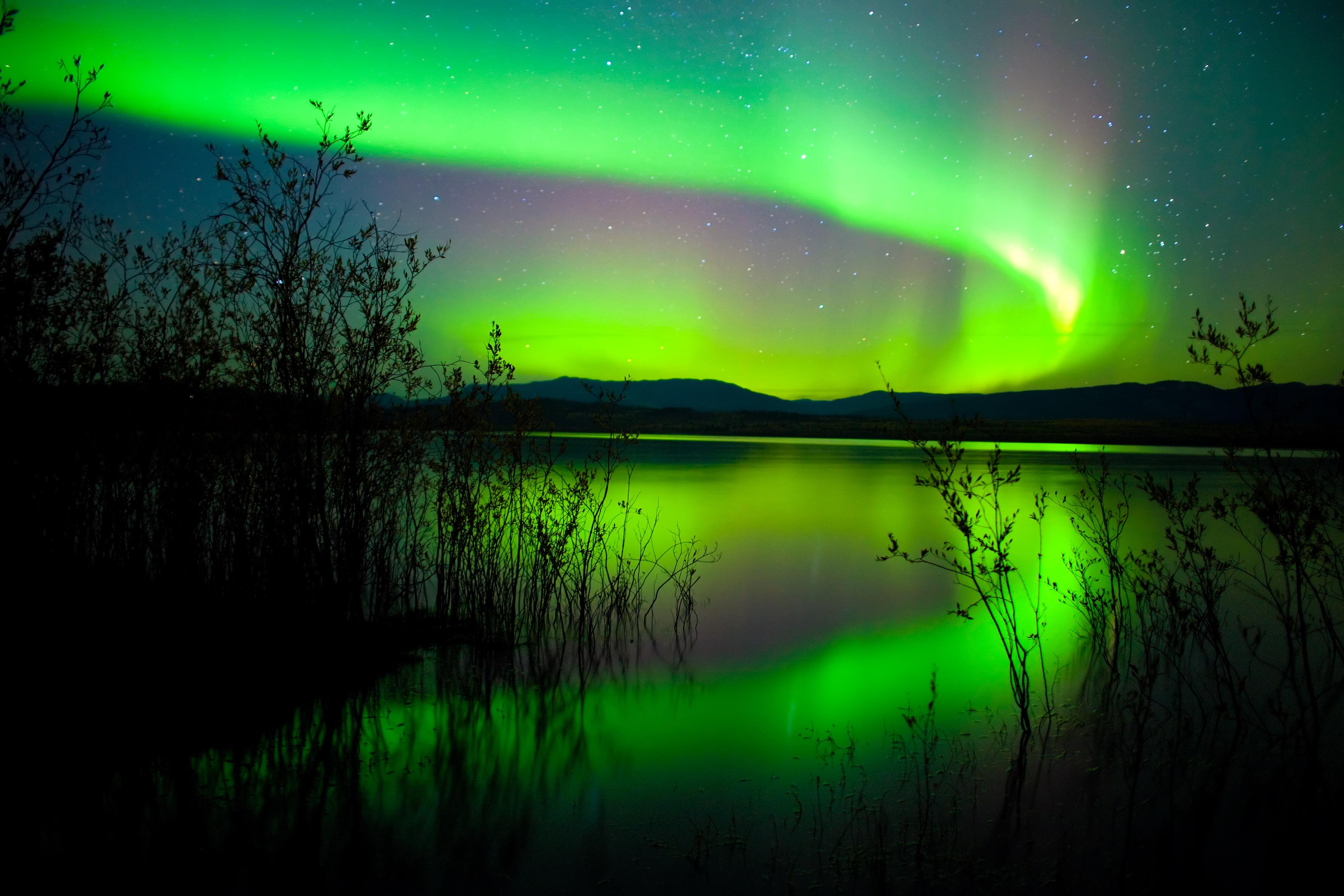Canada 150 Northern Lights