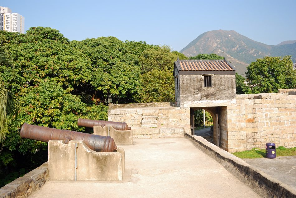 Tung Chung islands fort