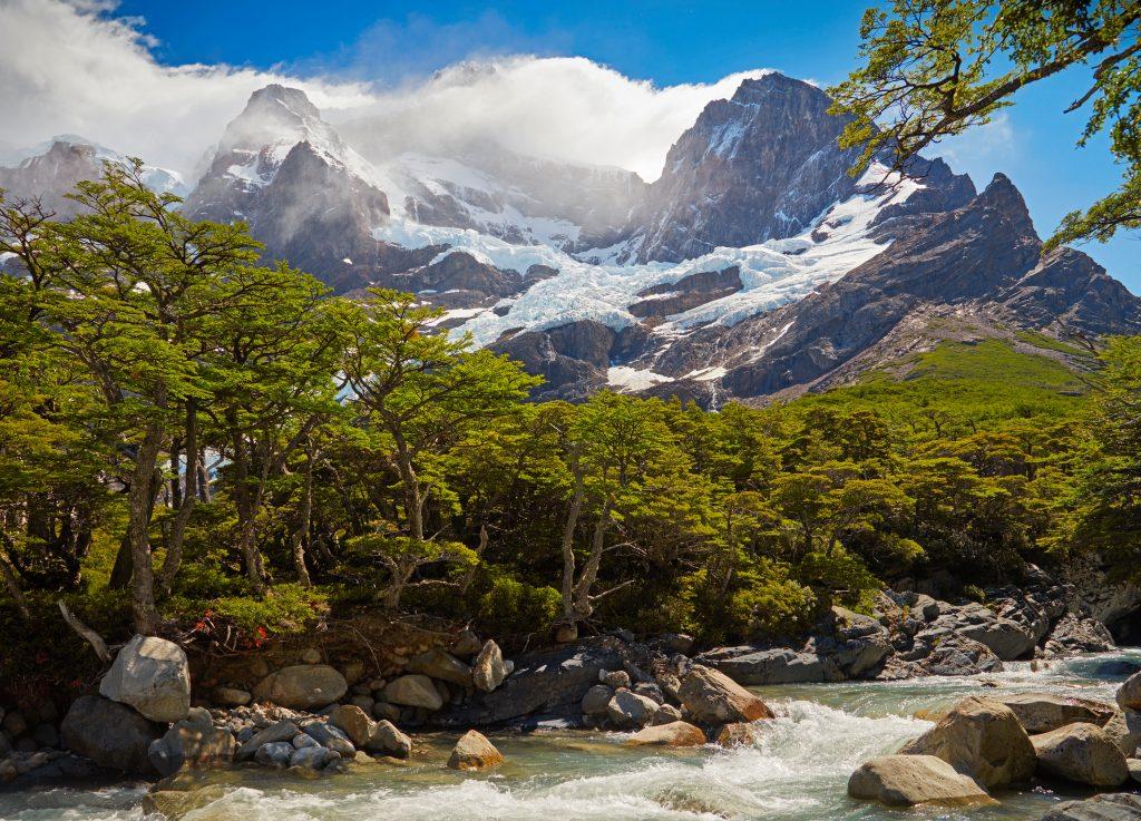 Torres del Paine national park. Patagonia, Chile - adventure travel