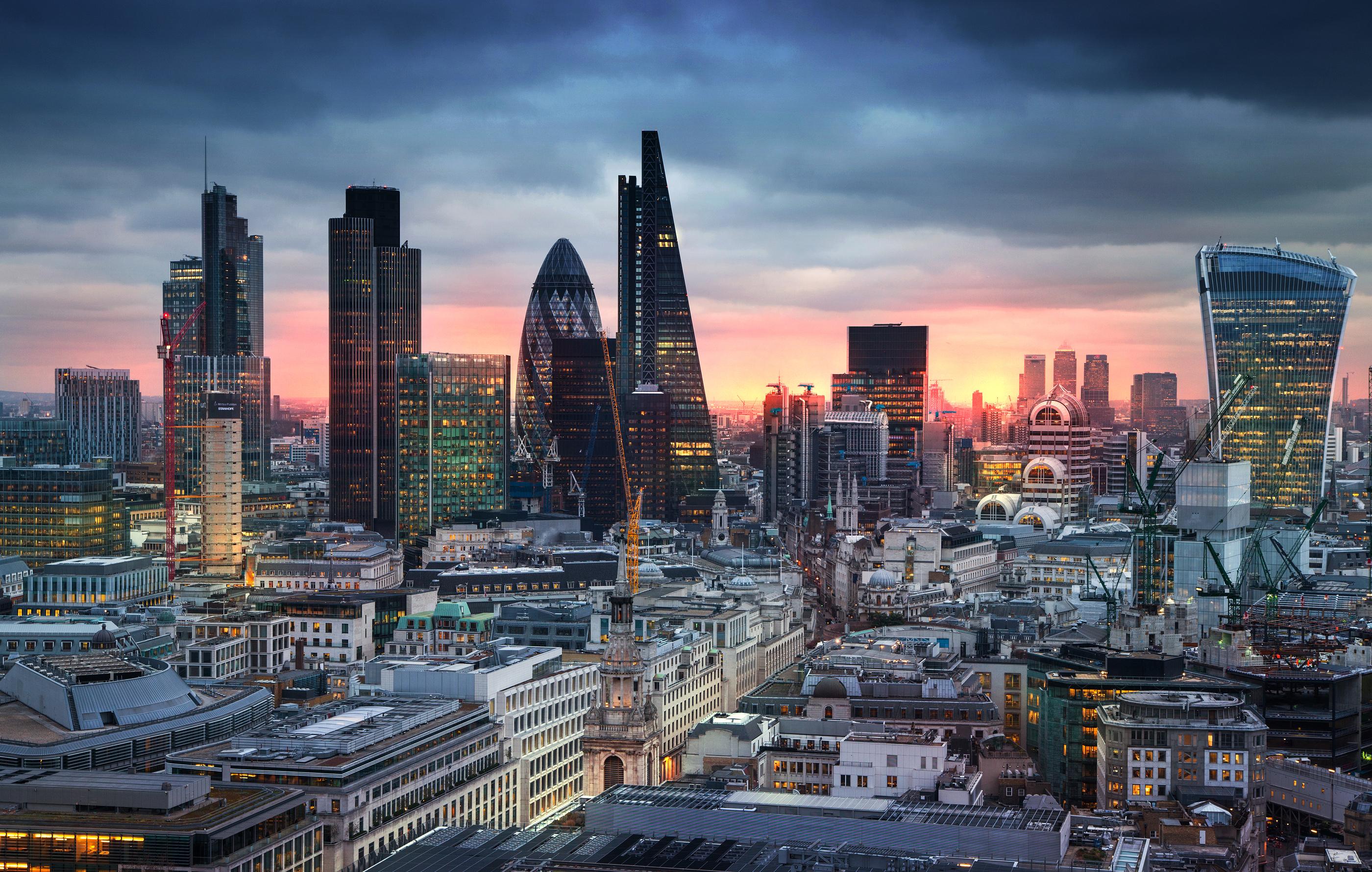 Treating Depression - London Cityscape