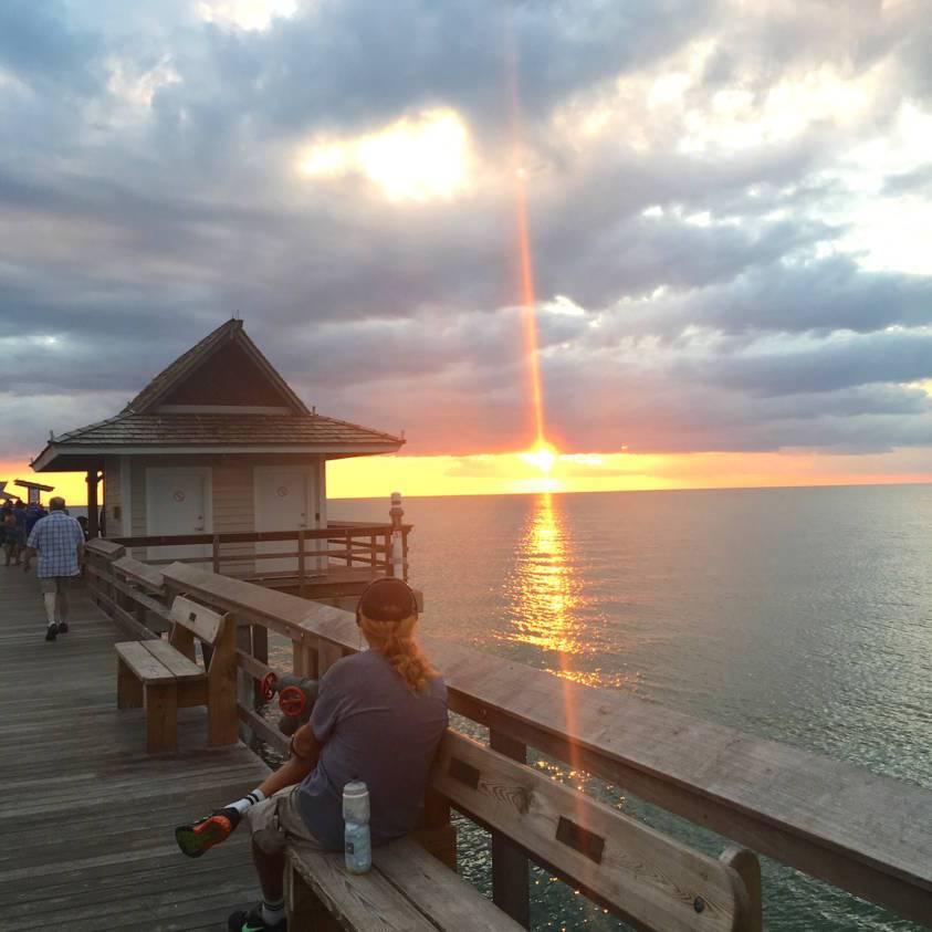 naples-pier-sunset