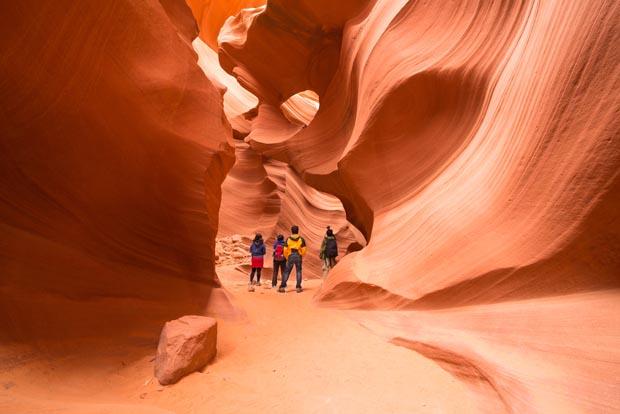 Antelope Canyon, Nevada, magical places