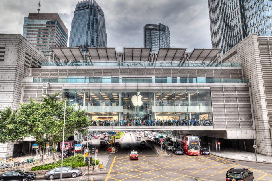 ifc hong kong apple Shopping