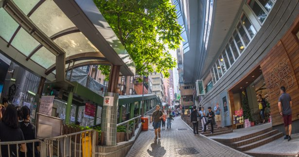 Image of A Guide To Hong Kong's Giant Outdoor Escalator
