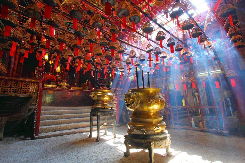 Man Mo temple Hong Kong