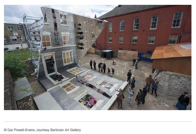 Peculiar Illusions in Architecture