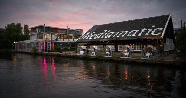 Image of Amsterdam Restaurant Nails Social Distancing