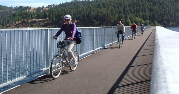 Image of Old Railroad Routes Revamped into a Cross-Country Bike Path